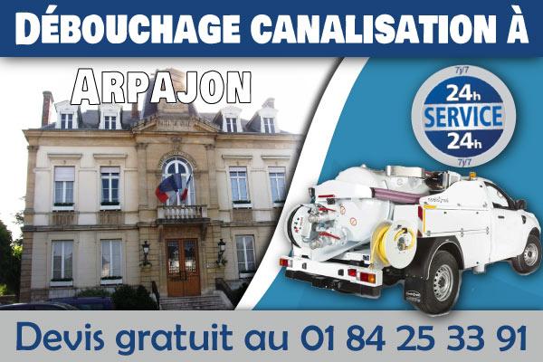 Debouchage-Canalisation-Arpajon