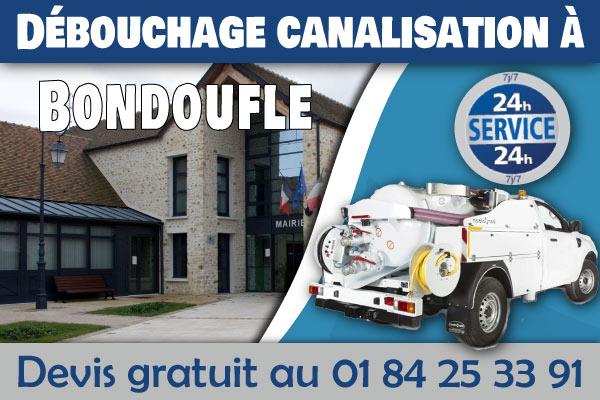 Debouchage-Canalisation-Bondoufle