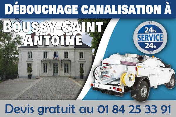 Debouchage-Canalisation-Boussy-Saint-Antoine