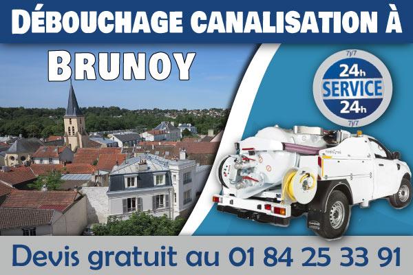 Debouchage-Canalisation-Brunoy