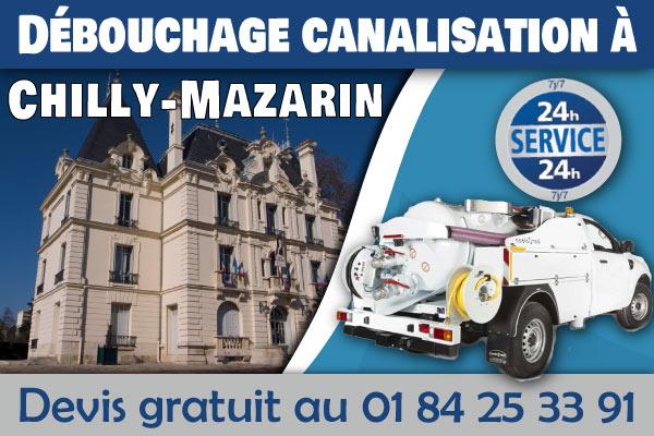 Debouchage-Canalisation-Chilly-Mazarin