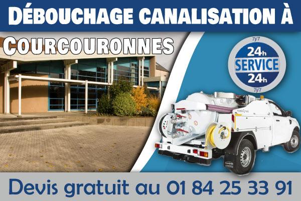 Debouchage-Canalisation-Courcouronnes
