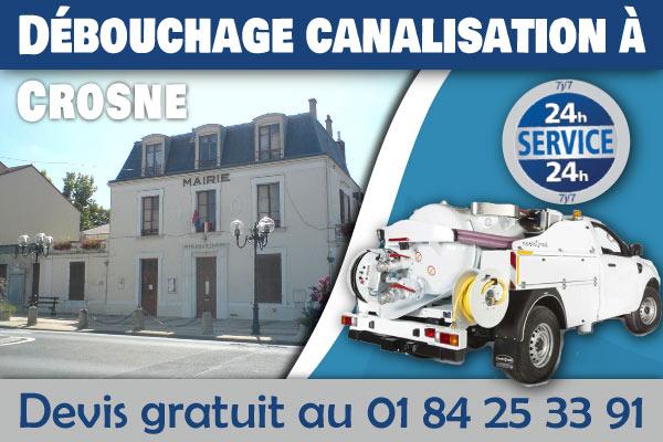 Debouchage-Canalisation-Crosne