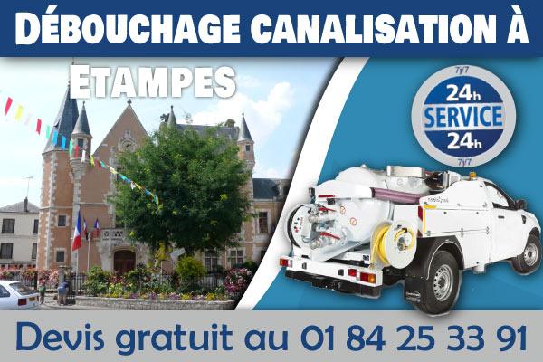 Debouchage-Canalisation-Etampes