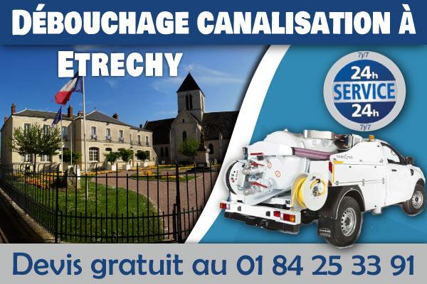 Debouchage-Canalisation-Etrechy