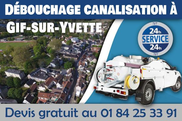 Debouchage-Canalisation-Gif-sur-Yvette