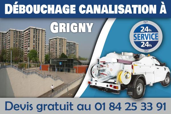 Debouchage-Canalisation-Grigny
