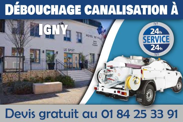 Debouchage-Canalisation-Igny