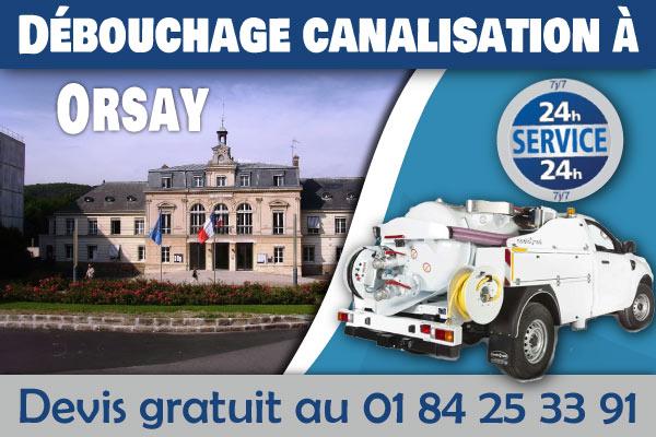 Debouchage-Canalisation-Orsay