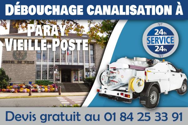 Debouchage-Canalisation-Paray-Vieille-Poste