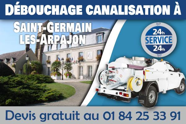 Debouchage-Canalisation-Saint-Germain-les-Arpajon
