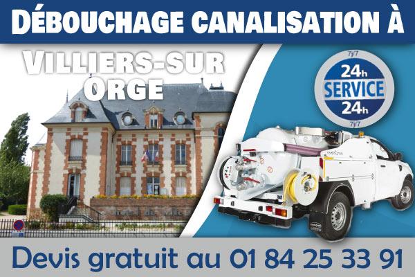 Debouchage-Canalisation-Villiers-sur-Orge