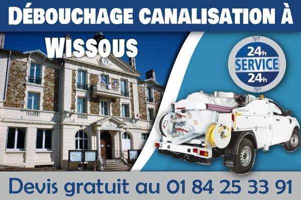 Debouchage-Canalisation-Wissous