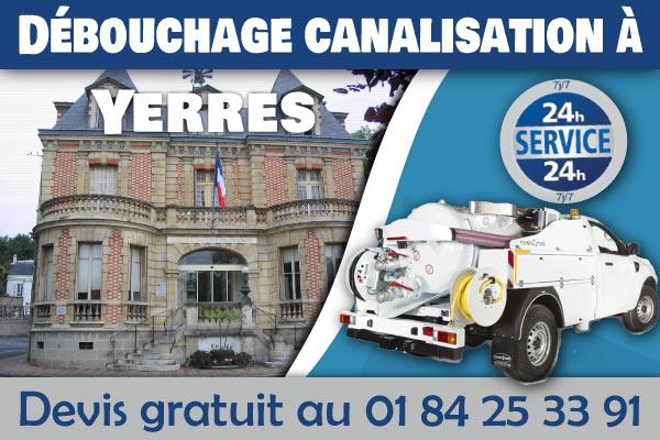 Debouchage-Canalisation-Yerres