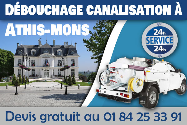 debouchage-canalisation-Athis-mons