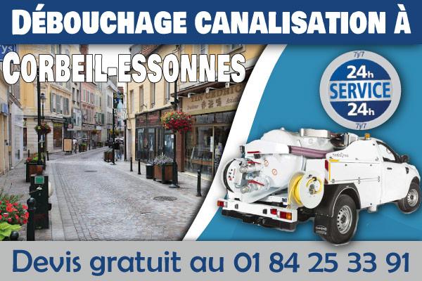 debouchage-canalisation-Corbeil-essonnes