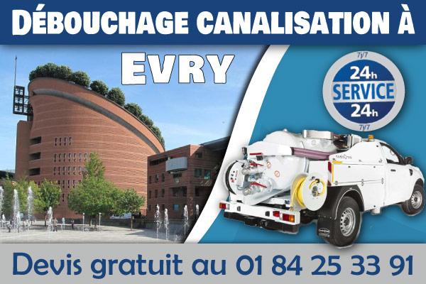debouchage-canalisation-Evry