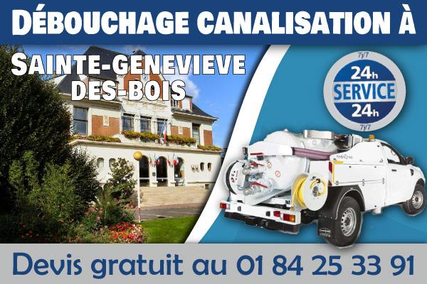 debouchage-canalisation-Sainte-genevieve-des-bois