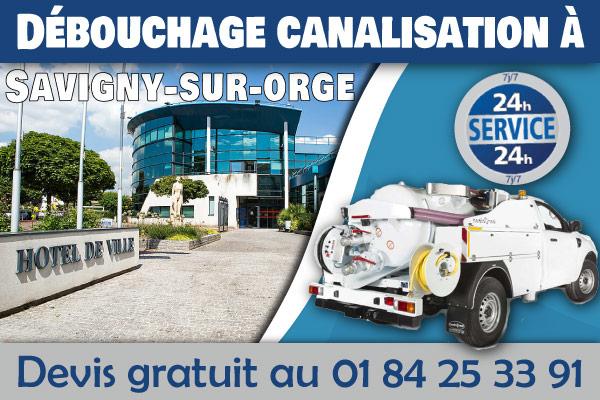debouchage-canalisation-Savigny-sur-orge