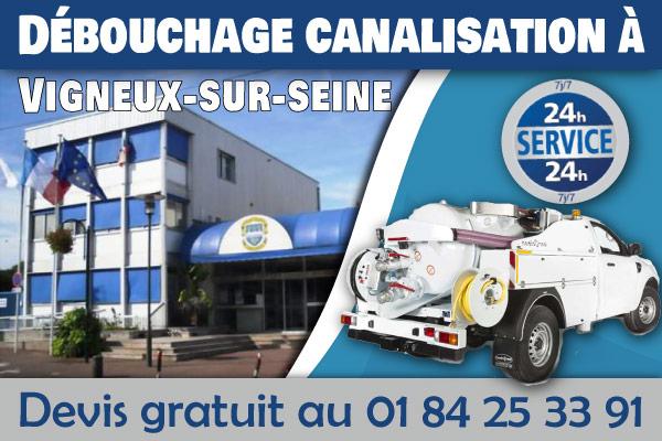 debouchage-canalisation-Vigneux-sur-seine
