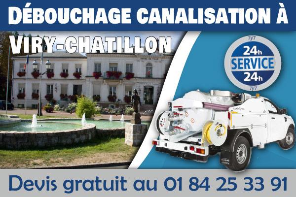 debouchage-canalisation-Viry-chatillon